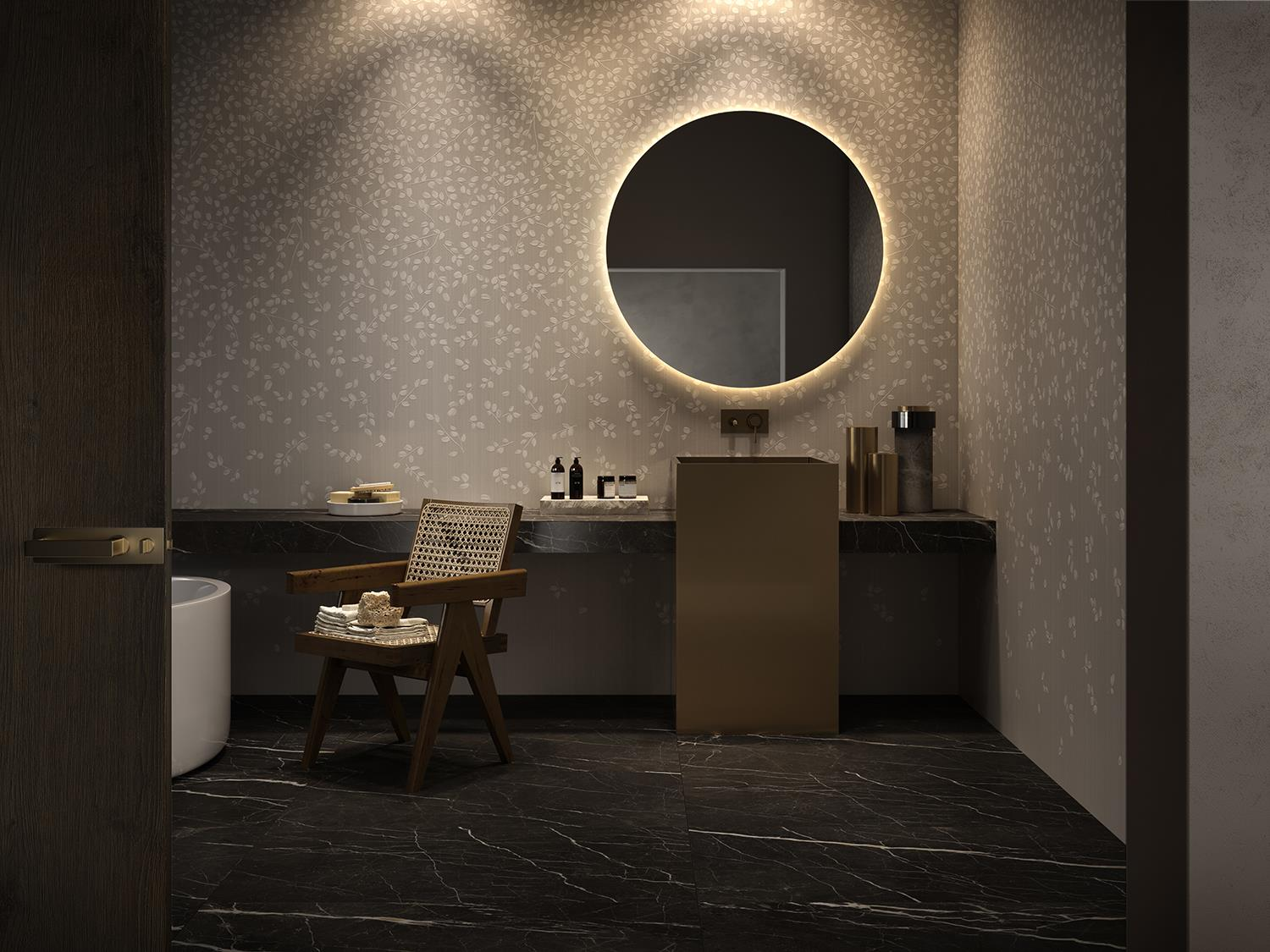 Cotto d'Este innovatively reinterprets wallpaper with ultra-thin ceramic slabs: Photo 2